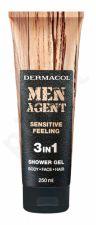 Dermacol Men Agent, Sensitive Feeling, dušo želė vyrams, 250ml
