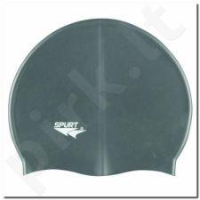 Maudymosi kepuraitė silikoninė SPURT G107 pilkas