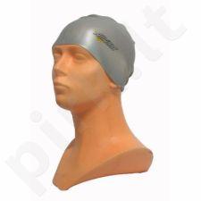 Maudymosi kepuraitė  Allright silikoninė sidabrinis