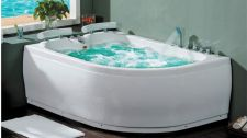 Masažinė vonia B201-1 kairinė su hidromasažu