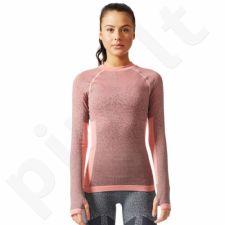 Marškinėliai adidas Seamless LS W BR6396
