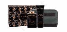 Bvlgari Man In Black, rinkinys kvapusis vanduo vyrams, (EDP 100 ml + balzamas po skutimosi 100 ml + kosmetika krepšys)