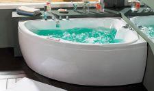 Masažinė vonia B1712 kairinė su hidromasažu