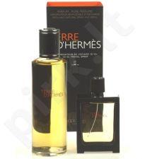 Hermes Terre D´Hermes, rinkinys Perfume vyrams, (Perfume 30 ml daugkartinis (papildymas (refill)able) bottle + Perfume 125 ml papildymas (refill))