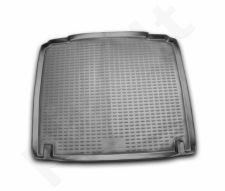 Guminis bagažinės kilimėlis PEUGEOT 407 sedan 2004-2010 black /N30016