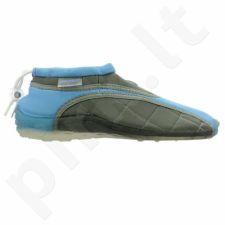 Sportiniai bateliai  plażowe neoprenowe Aqua-Speed Jr mėlyna-szare