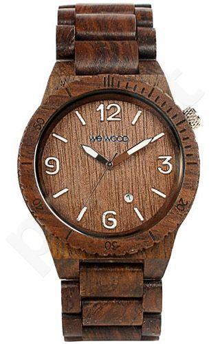 Medinis laikrodis WE WOOD CHOCOLATE AL-CH-001
