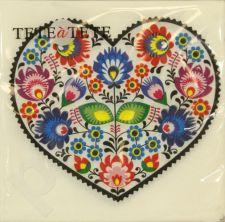 Servetėlės Tat Łowicz Heart