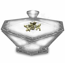 Produktas Dekoracinis Stiklas su Žalvariu