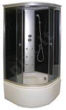 Masažinė dušo kabina KM998 100x100 grey