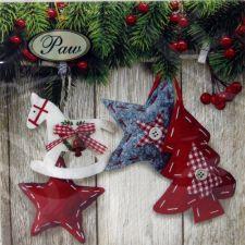 Servetėlės Christmas & Stars