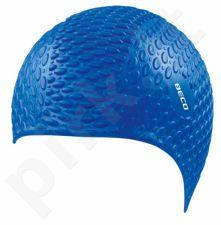 Kepuraitė plauk. unisex silik. BUBBLE 7396 6 blue