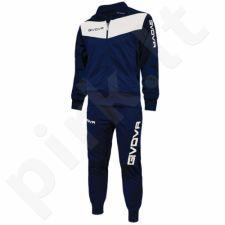 Sportinis kostiumas  Givova Visa tamsiai mėlyna baltas  0403