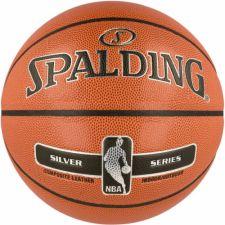 Krepšinio kamuolys Spalding NBA Silver Indoor/Outdoor 2017