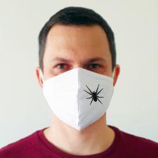 Balta veido kaukė