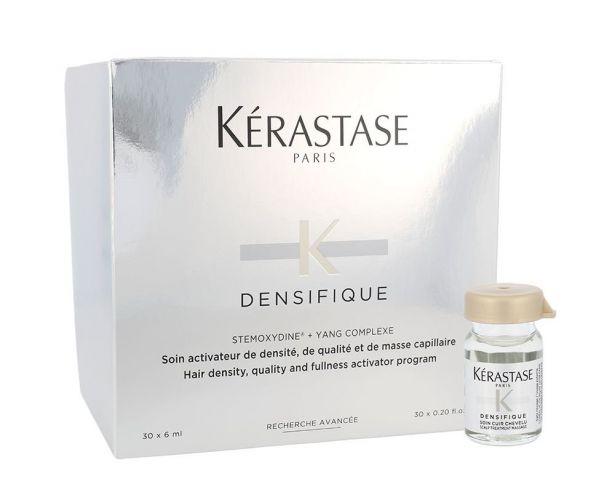 Kérastase Hair Density Programme, Densifique, rinkinys plaukų serumas moterims, (30x 6ml Vials)