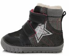 D.D. step juodi batai su pašiltinimu 20-24 d. 029312