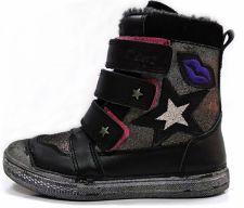 D.D. step juodi batai su pašiltinimu 25-30 d.049913bm