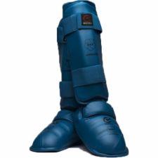 Karate apsaugos blauzdai ir pėdai XL blue