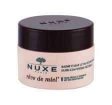 NUXE Reve de Miel, Ultra Comforting Face Balm, dieninis kremas moterims, 50ml