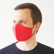 """Veido kaukė """"Raudona"""""""