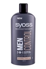 Syoss Professional Performance Men, Control 2-in-1, šampūnas vyrams, 500ml