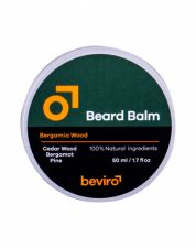 Be-Viro Men´s Only, Beard Balm, barzdos vaškas vyrams, 50ml, (Cedar Wood, Bergamot, Pine)