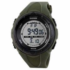 Vaikiškas, Moteriškas laikrodis SKMEI 1074 AG Lady Size Army Green