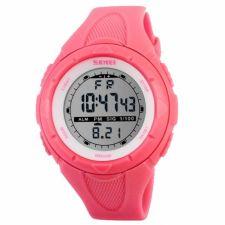 Vaikiškas, Moteriškas laikrodis SKMEI 1074 RS Lady Size Rose Red