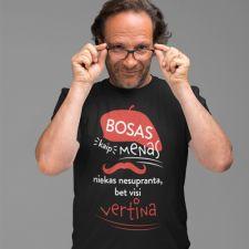 """Marškinėliai """"Bosas, kaip menas"""""""