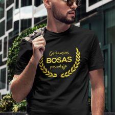 """Marškinėliai """"Geriausias bosas pasaulyje"""""""