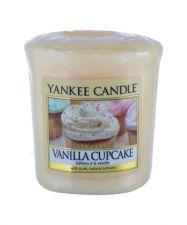 Yankee Candle Vanilla Cupcake, aromatizuota žvakė moterims ir vyrams, 49g