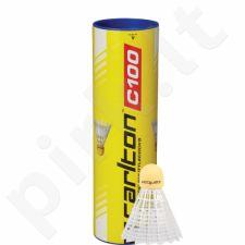 Badmintono skrajukės Carlton C100 sint 6vnt vidut
