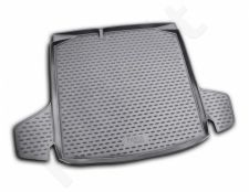Guminis bagažinės kilimėlis SKODA Fabia wagon 2007-2014 black /N35002