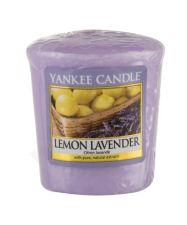 Yankee Candle Lemon Lavender, aromatizuota žvakė moterims ir vyrams, 49g