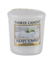 Yankee Candle Fluffy Towels, aromatizuota žvakė moterims ir vyrams, 49g