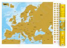 Nutrinamas EUROPOS žemėlapis lietuvių kalba