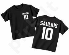 Vaikiški marškinėliai su Jūsų pasirinktu vardu ir numeriu