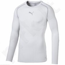 Marškinėliai treniruotėms Puma TB Longsleeve Shirt Tee M 65461204