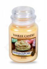 Yankee Candle Vanilla Cupcake, aromatizuota žvakė moterims ir vyrams, 623g