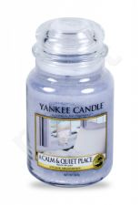 Yankee Candle A Calm & Quiet Place, aromatizuota žvakė moterims ir vyrams, 623g