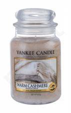 Yankee Candle Warm Cashmere, aromatizuota žvakė moterims ir vyrams, 623g