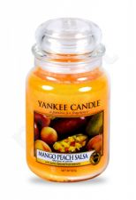 Yankee Candle Mango Peach Salsa, aromatizuota žvakė moterims ir vyrams, 623g