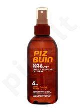 PIZ BUIN Tan & Protect, Tan Accelerating Oil Spray, Sun kūno losjonas moterims, 150ml