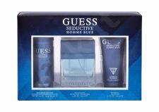 GUESS Homme Blue, Seductive, rinkinys tualetinis vanduo vyrams, (EDT 100 ml + dušo želė 200 ml + dezodorantas 226 ml)