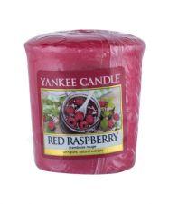 Yankee Candle Red Raspberry, aromatizuota žvakė moterims ir vyrams, 49g