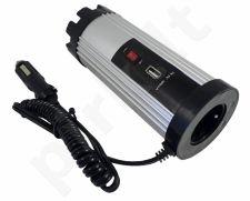 Automobilinis 12V įtampos keitiklis (konverteris) iki 150 W