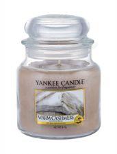 Yankee Candle Warm Cashmere, aromatizuota žvakė moterims ir vyrams, 411g