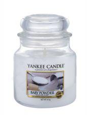 Yankee Candle Baby Powder, aromatizuota žvakė moterims ir vyrams, 411g