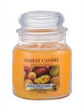 Yankee Candle Mango Peach Salsa, aromatizuota žvakė moterims ir vyrams, 411g